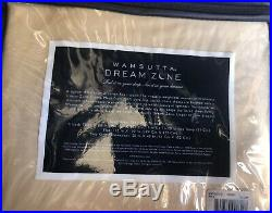Wamsutta Dream Zone Chamois King Sheet Set 750 TC, Dark Cream Old Collection