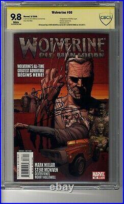Wolverine (2003) # 66 CBCS 9.8 White Pgs SS2X McNiven & Vines Old Man Logan