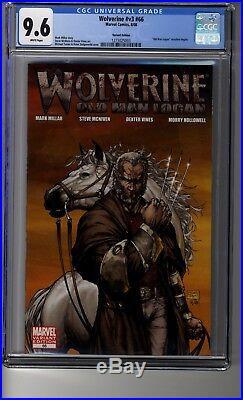 Wolverine (2003) # 66 Michael Turner Var CGC 9.6 White Pages Old Man Logan