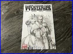 Wolverine #66 Old Man Logan 1100 HIGH GRADE Turner Sketch Variant Rare See Pics