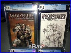 Wolverine 66 Turner Variant Sketch Dynamic Force 9.6 cgc Old Man Logan