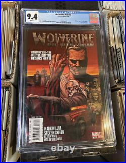 Wolverine v3 #66 CGC 9.4 -1st Appearance of Old Man Logan