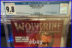 Wolverine #v3 #66 Cgc 9.8 Old Man Logan Storyline Begins. Wraparound Cover