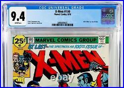 X-MEN #100 CGC 9.4 NM White Pages Old X-Men Vs New X-Men