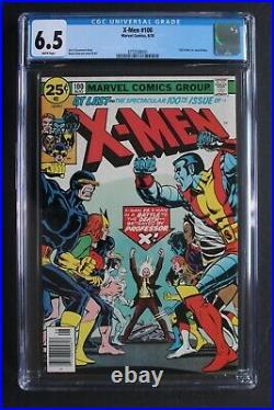 X-MEN #100 Old vs New X-MEN Teams Battle 1976 X-Sentinels Origin PHOENIX CGC 6.5