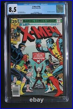 X-MEN #100 Old vs New X-MEN Teams Battle 1976 X-Sentinels Origin PHOENIX CGC 8.5