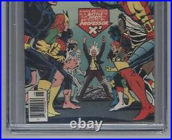 X-Men #100 1976 Bronze Age Key Old Vs. New Team Phoenix Origin CGC 9.6