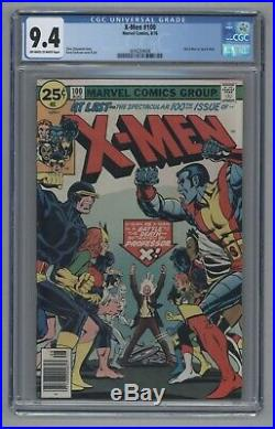 X-Men #100 1976 Bronze Age Key Old Vs New Team Phoenix Origin Uncanny CGC 9.4