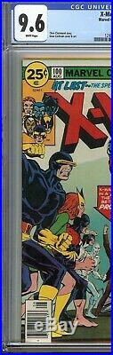 X-Men #100 CGC 9.6 NM+ OLD X-MEN vs NEW X-MEN Battle Dave Cockrum Cover Marvel
