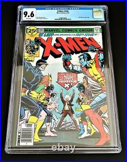 X-Men #100 CGC 9.6 NM+ Old X-Men Vs New X-Men White Pages Newsstand RARE