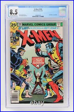 X-Men #100 Marvel 1976 CGC 8.5 Old X-Men vs. New X-Men