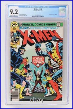 X-Men #100 Marvel 1976 CGC 9.2 Old X-Men vs. New X-Men