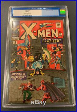 X-Men #20 CGC 8.0 Old Label Magneto Iceman Beast Angel Cyclops Jean Grey