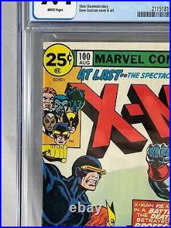 X-Men Uncanny #100 CGC 9.4 NM Marvel Comics 8/76 1976 Old X-Men vs. New