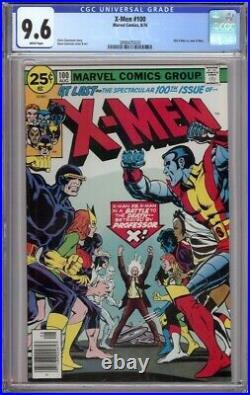 X-men #100 Cgc 9.6 New X-men Vs Old X-men 1976 Wht Pgs