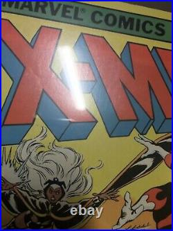 X-men #104 CGC 9.0 OLD Label 1st appearance of Starjammers Homage
