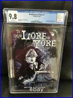 Ye Old Lore of Yore #1 CGC 9.8 White Pages Pre-dates Cursed Pirate Girl #1