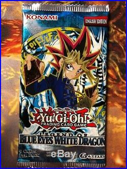 Yu-Gi-Oh Old Collectable Legend Of Blue Eyes English 24 Booster Packs TCG