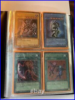 YuGiOh 1st Edition Binder Collection! Old School YuGiOh Cards! Binder Included