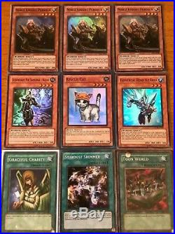 YuGiOh! Binder Lot Collection- Ghost, Ultimate, etc, Has Some Old School Cards