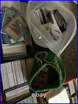 Yugioh! Card Lot Collection Has Old School And New(Cards 1000 plus cards)