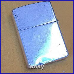 Zippo Rare Old Sterling Silver 70S
